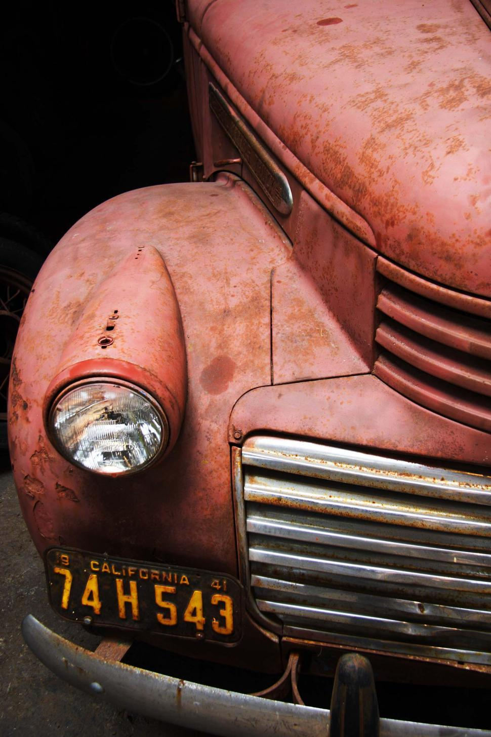 Download Free Stock HD Photo of Vintage old truck Online