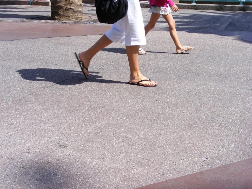 Download Free Stock Photo of People Walking