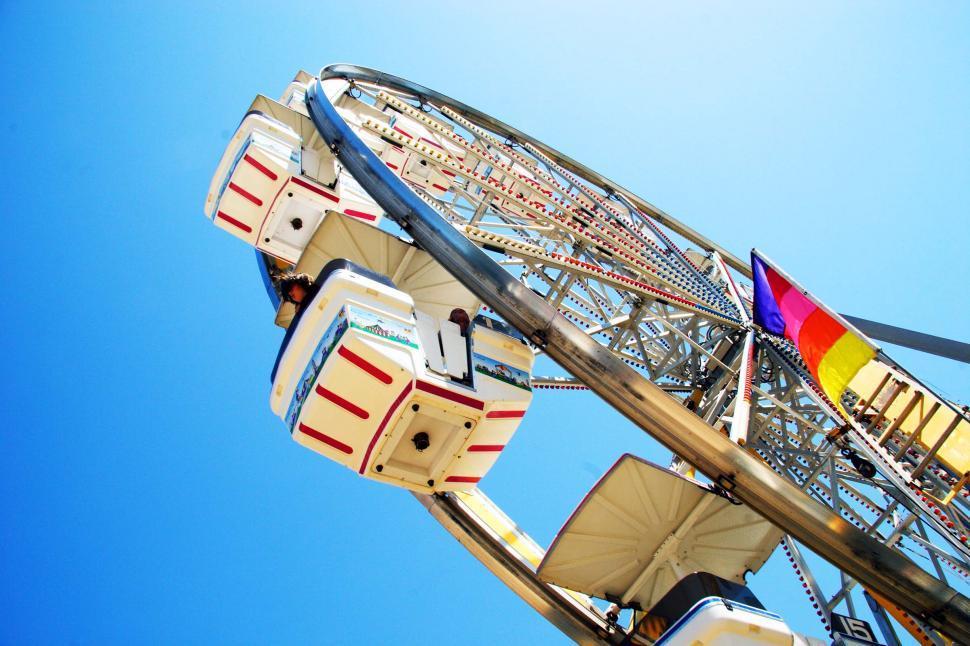 Download Free Stock Photo of Carnival Ferris wheel