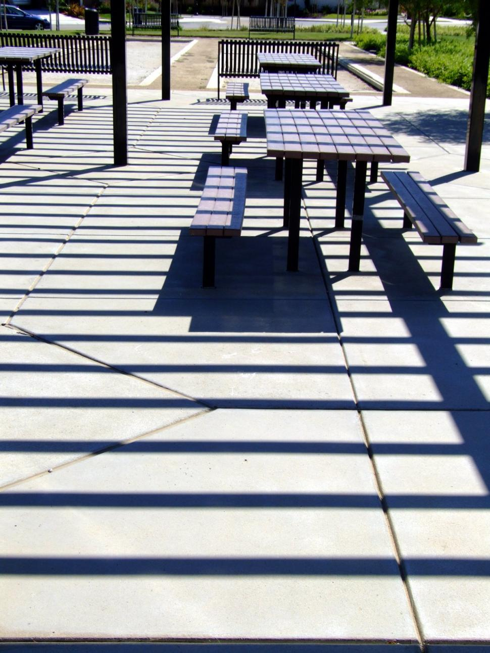 Download Free Stock HD Photo of Park Tables Online