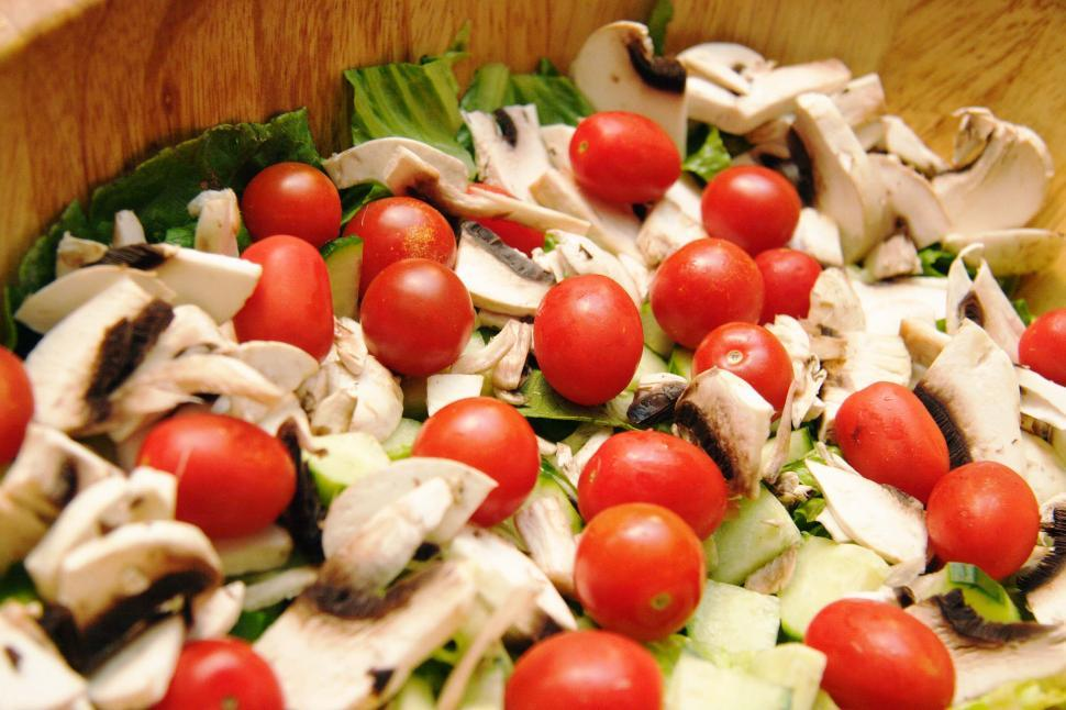 Download Free Stock HD Photo of Hearty healthy salad Online