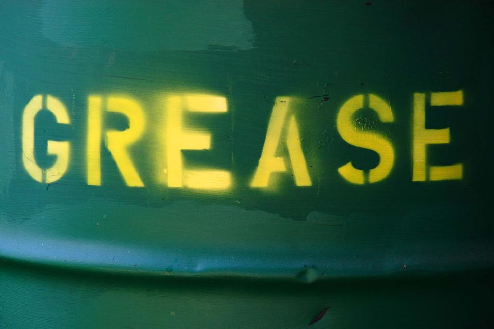 Download Free Stock HD Photo of GREASE barrel in green Online