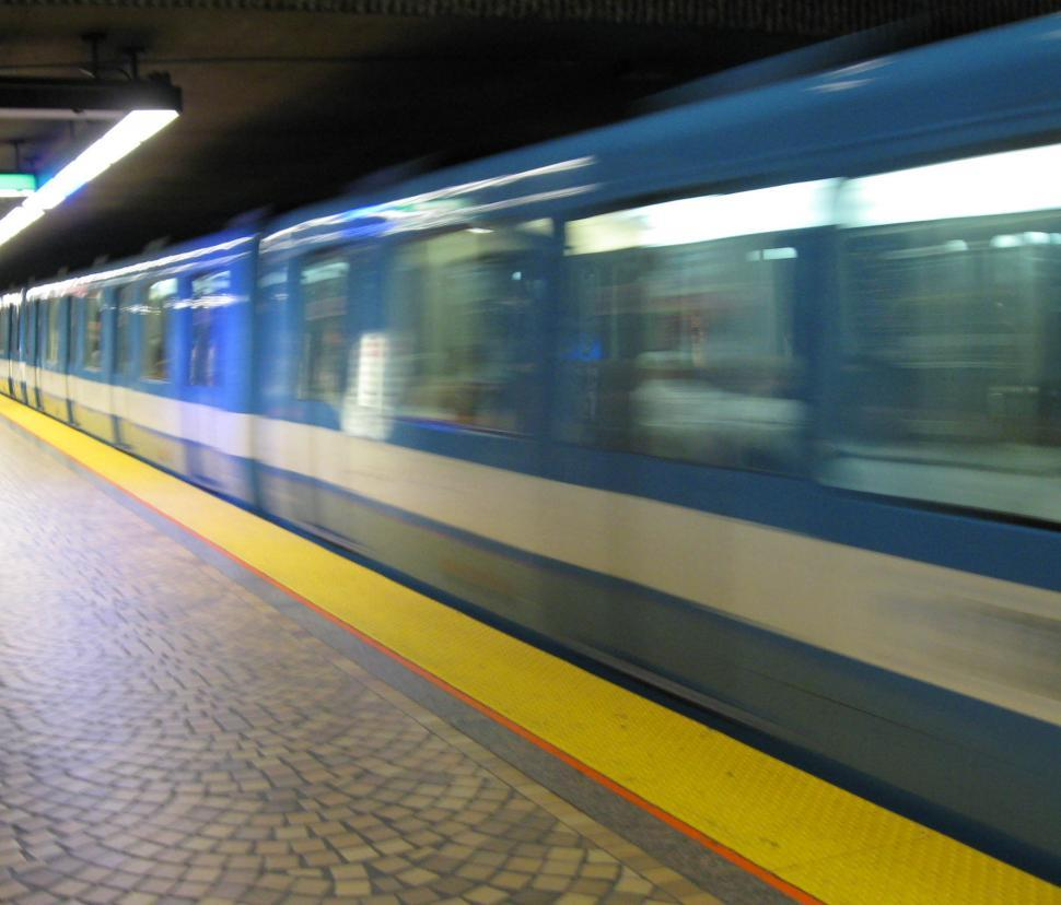 Download Free Stock Photo of The Train is Coming