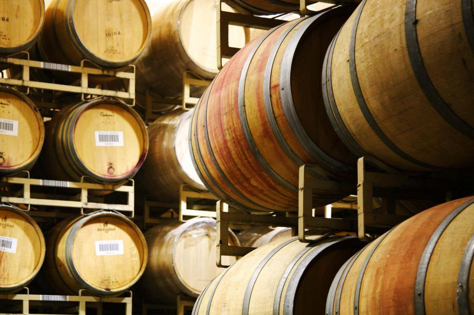 Download Free Stock Photo of Wine barrels