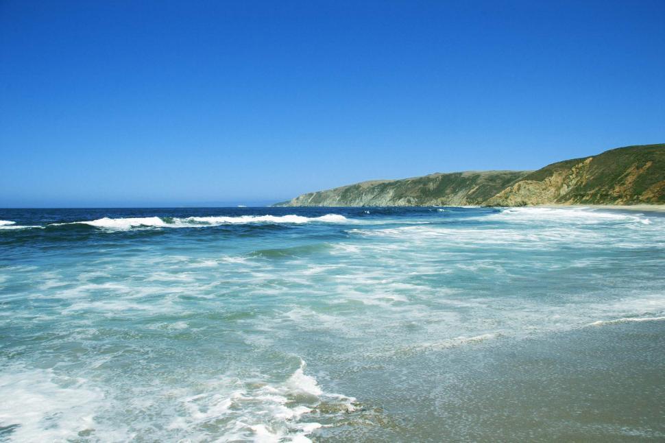 Download Free Stock Photo of California Shoreline