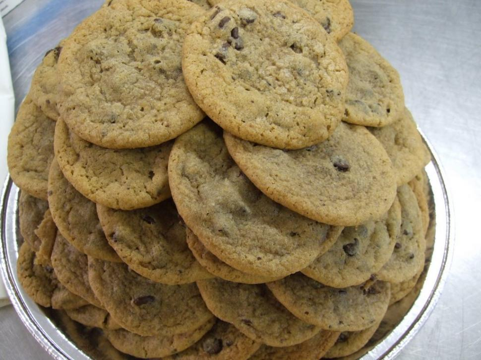 Download Free Stock HD Photo of Chocolate Chip Cookies Online