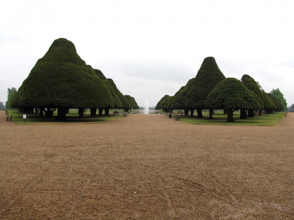 Download Free Stock Photo of Hampton Court Gardens