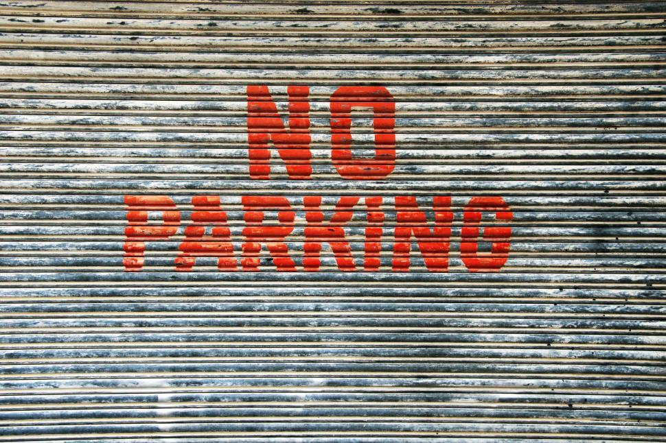 Download Free Stock HD Photo of No Parking Online