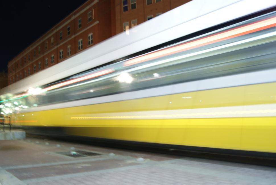 Download Free Stock HD Photo of Street car Dallas at night Online