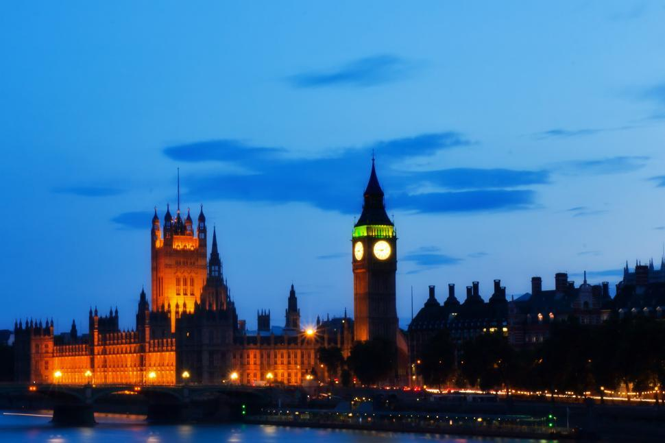 Download Free Stock Photo of Houses of Parliament