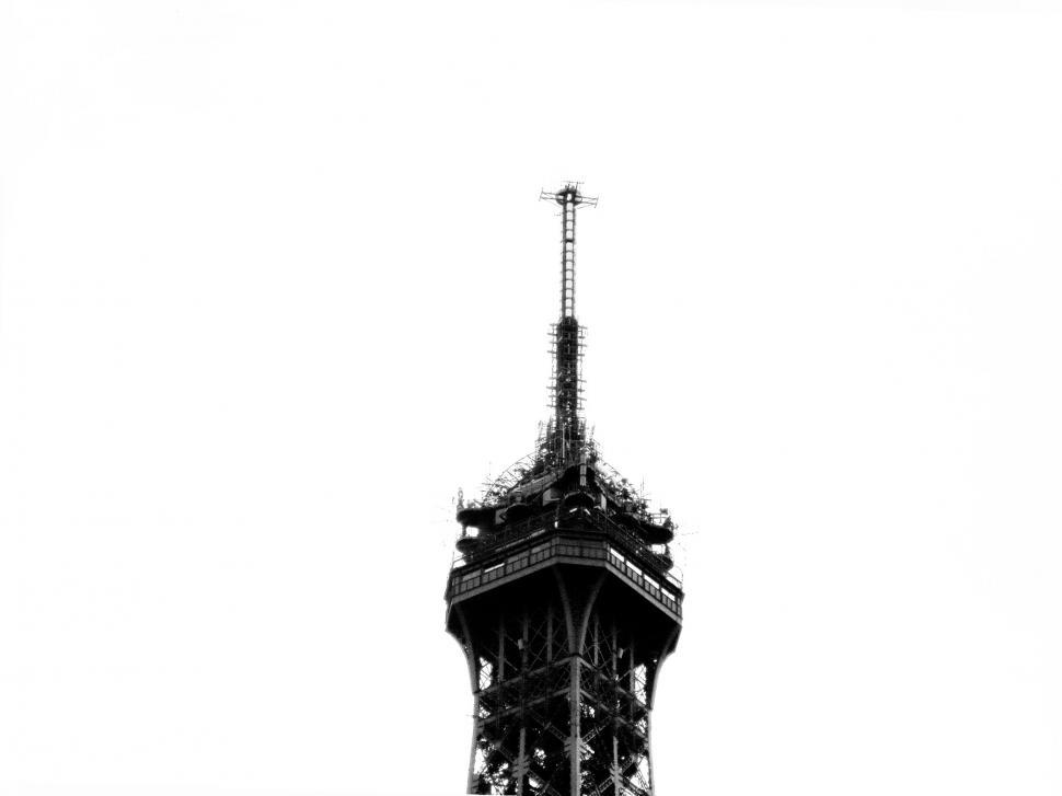 Download Free Stock HD Photo of Eiffel tower top Online