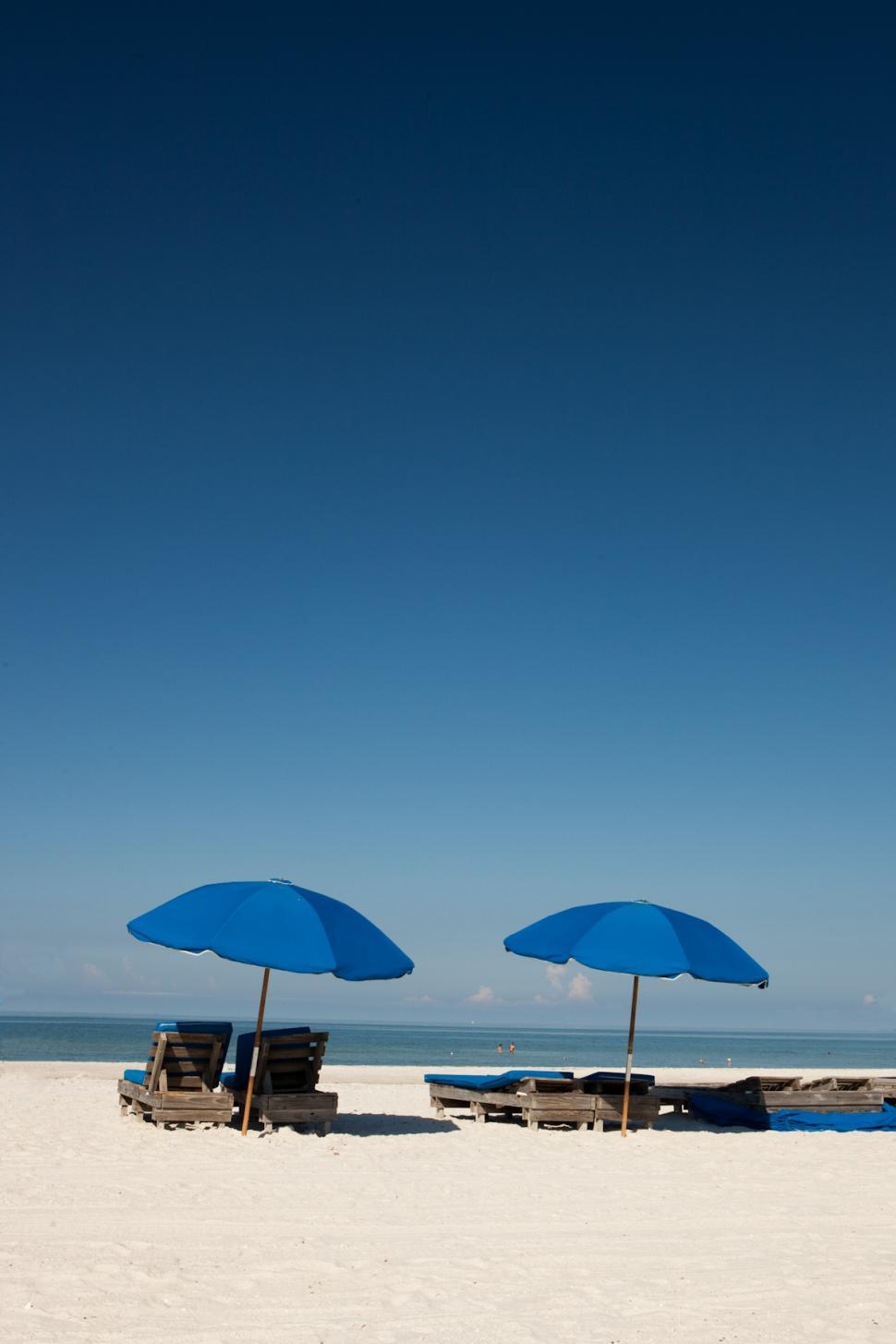 Download Free Stock Photo of Florida Beach Scene