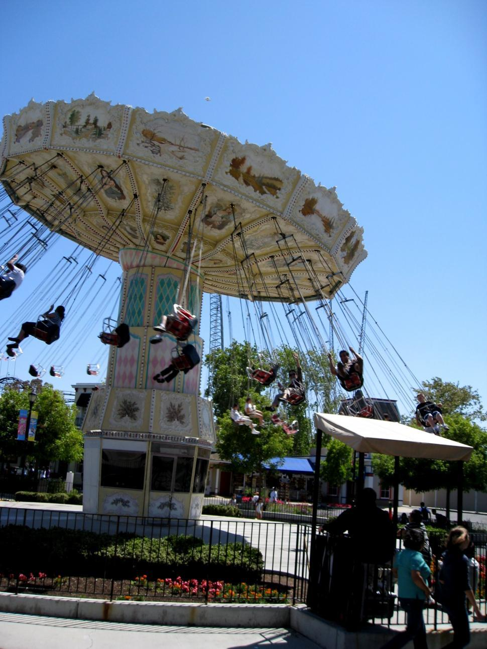 Download Free Stock HD Photo of Carnival/Swing Ride Online