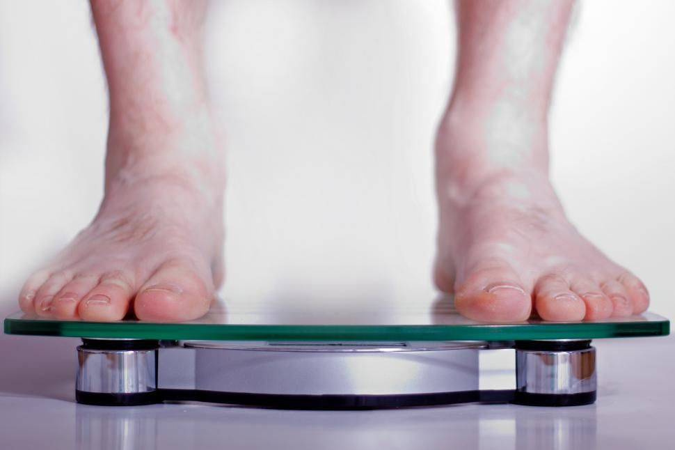 Download Free Stock Photo of Scale and Feet