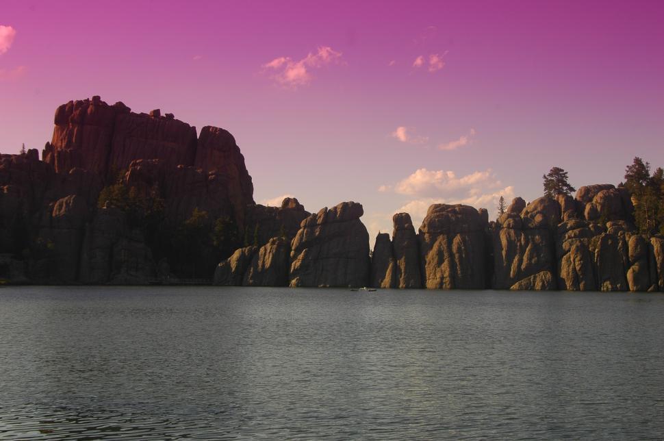 Download Free Stock HD Photo of Sylvan Lake - Black Hills, South Dakota Online