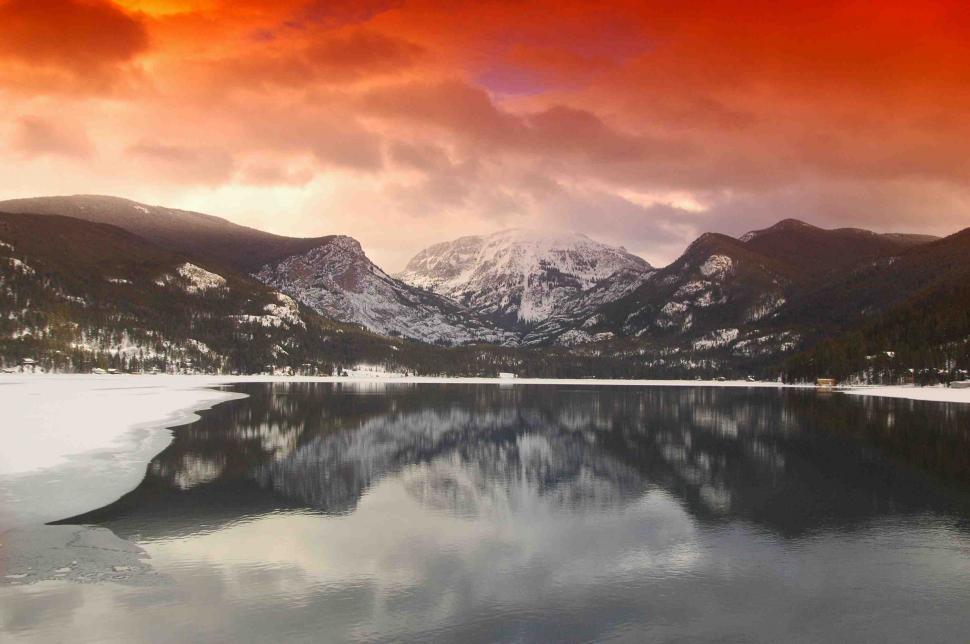 Download Free Stock HD Photo of Summit Lake - Mount Evans, Colorado Online