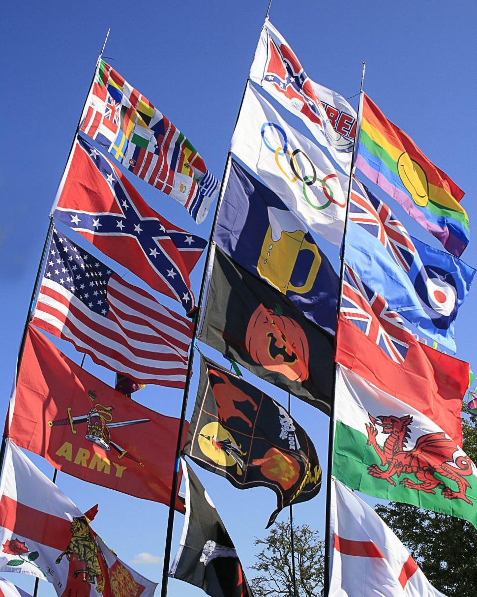 Download Free Stock HD Photo of flags2 Online