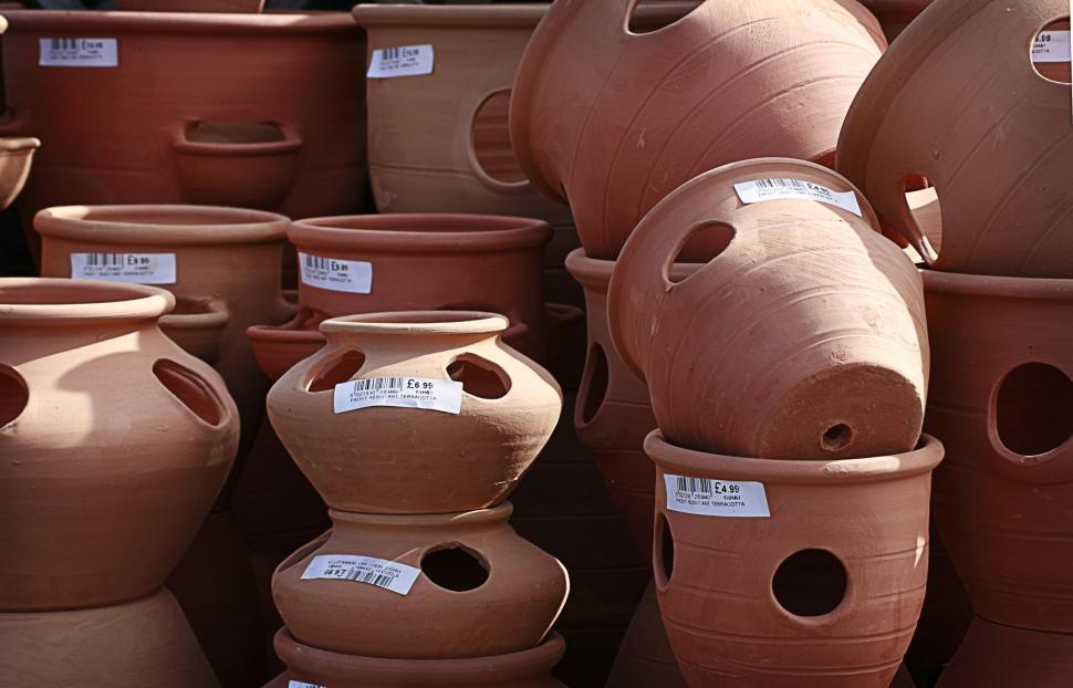 Download Free Stock HD Photo of terracotta pots Online