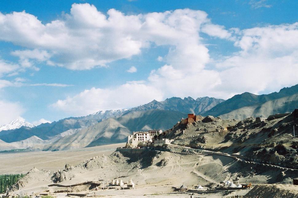 Download Free Stock Photo of Buddhist Monastery
