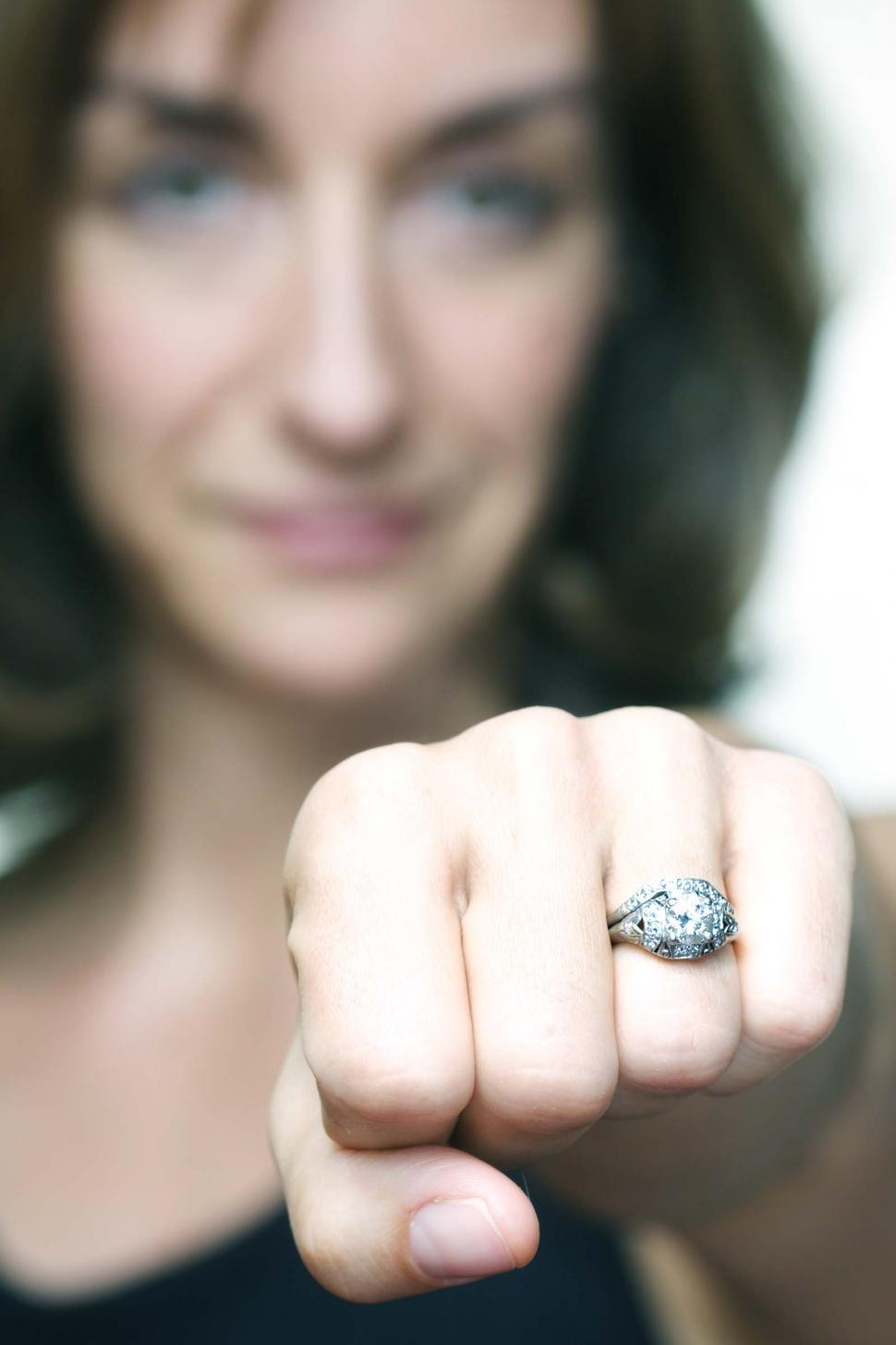 Download Free Stock Photo of The engagement ring