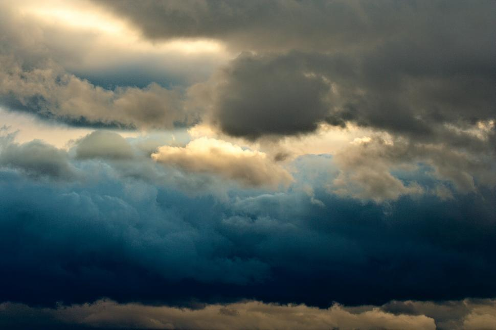 Download Free Stock Photo of Dramatic clouds