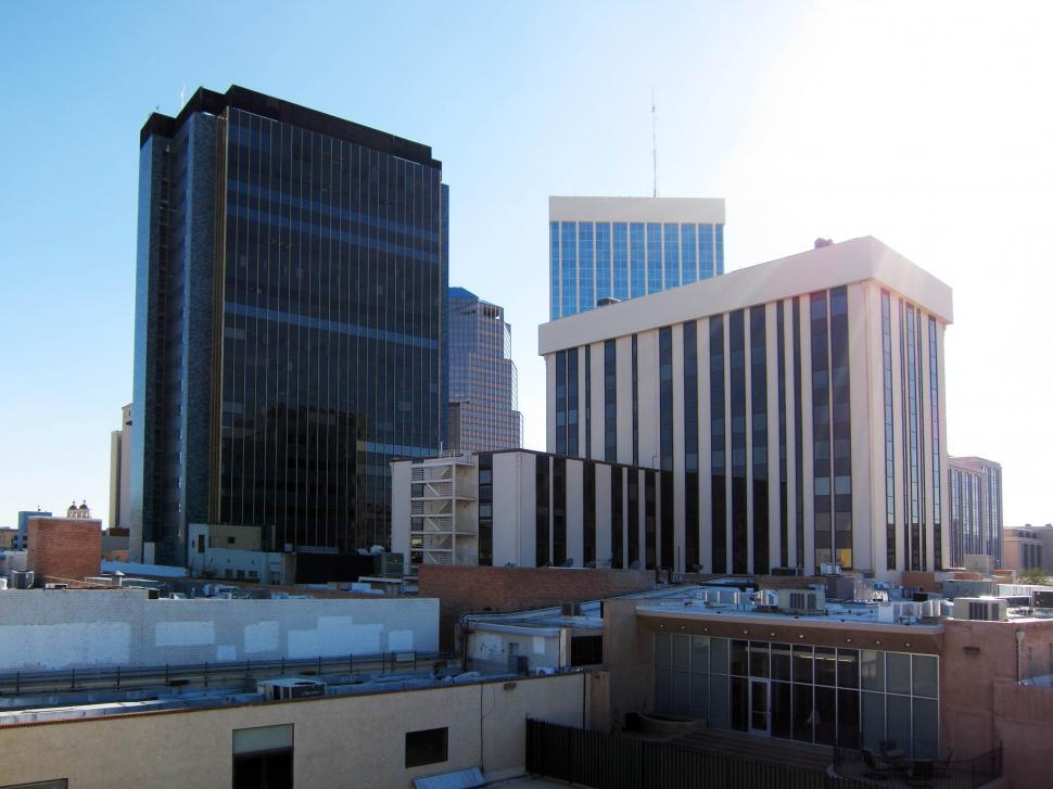 Download Free Stock HD Photo of Tucson buildings Online
