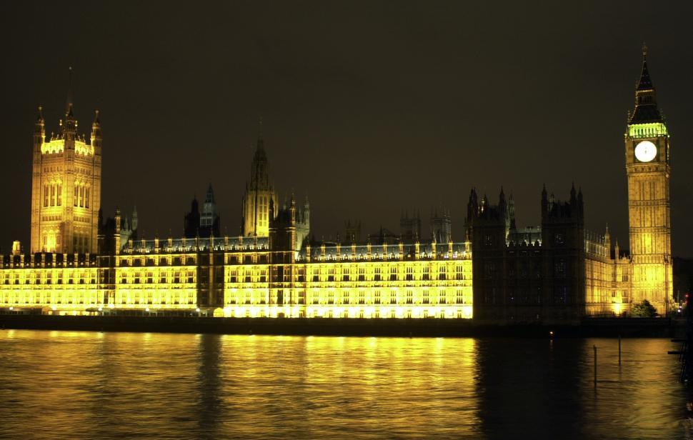 Download Free Stock Photo of British Parliament, London, England, UK