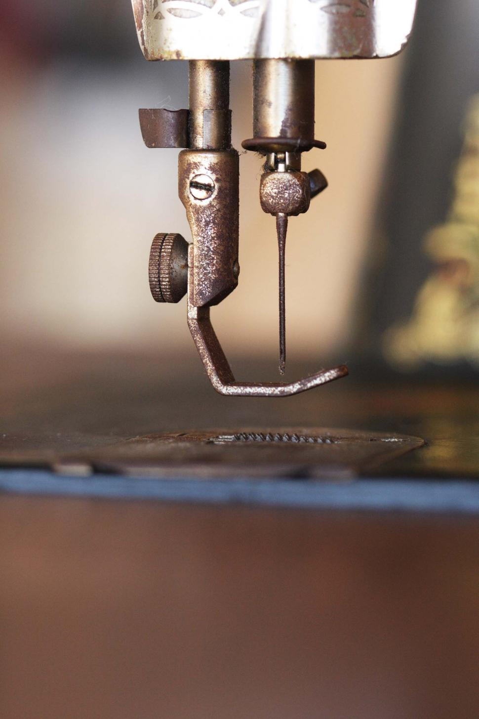 Download Free Stock Photo of Sewing machine foot