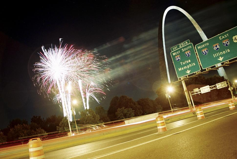Download Free Stock HD Photo of St. Louis Fireworks Online