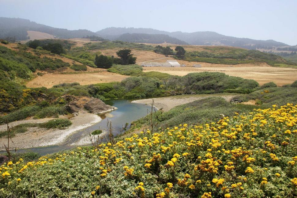 Download Free Stock Photo of Northern California landscape