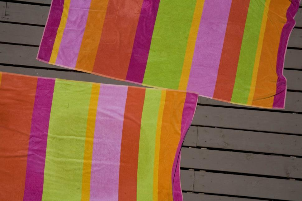 Download Free Stock Photo of Beach Towel