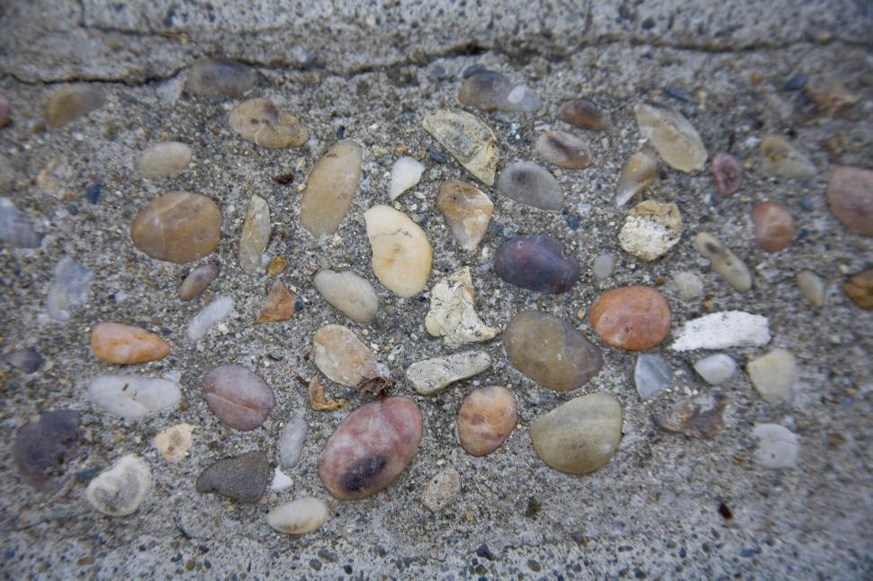 Download Free Stock Photo of Pebbeled Stone