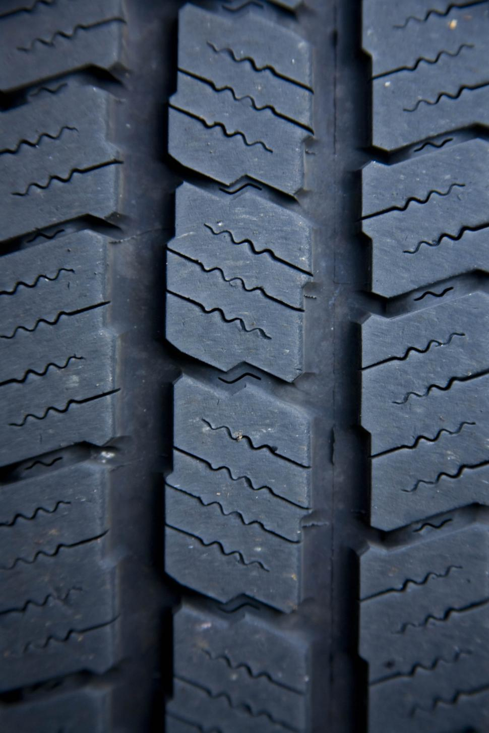 Download Free Stock Photo of Black rubber tire