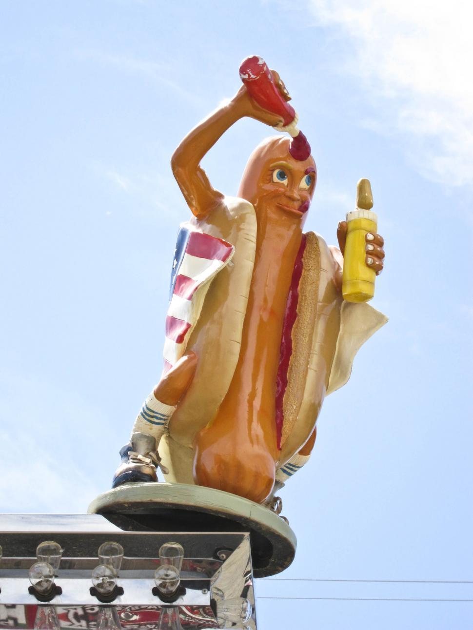 Download Free Stock Photo of Hotdog