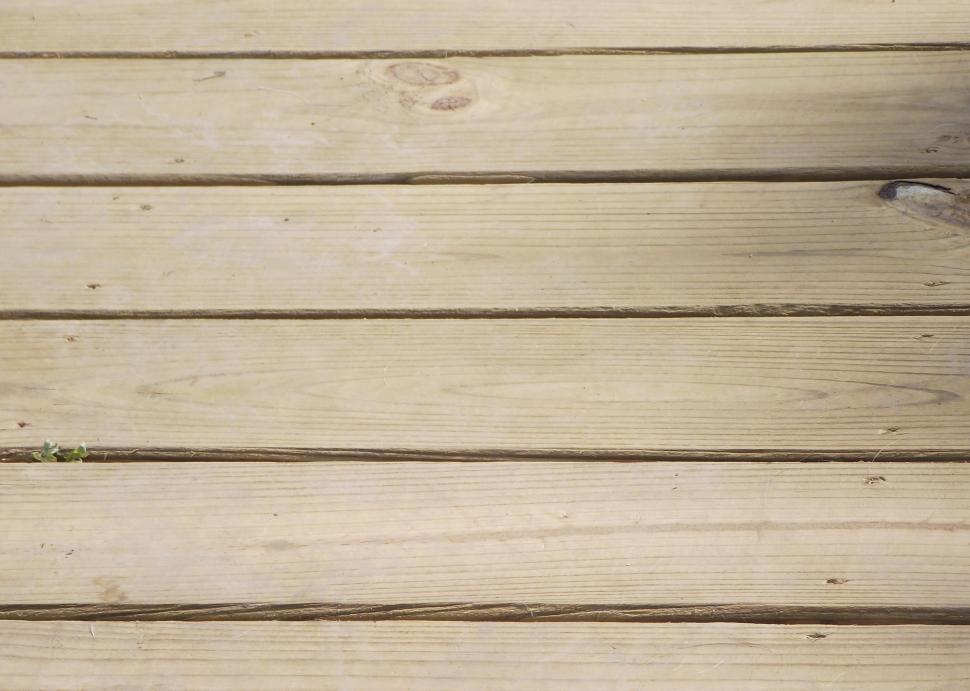 Download Free Stock HD Photo of Treated southern pine deck boards decking Online
