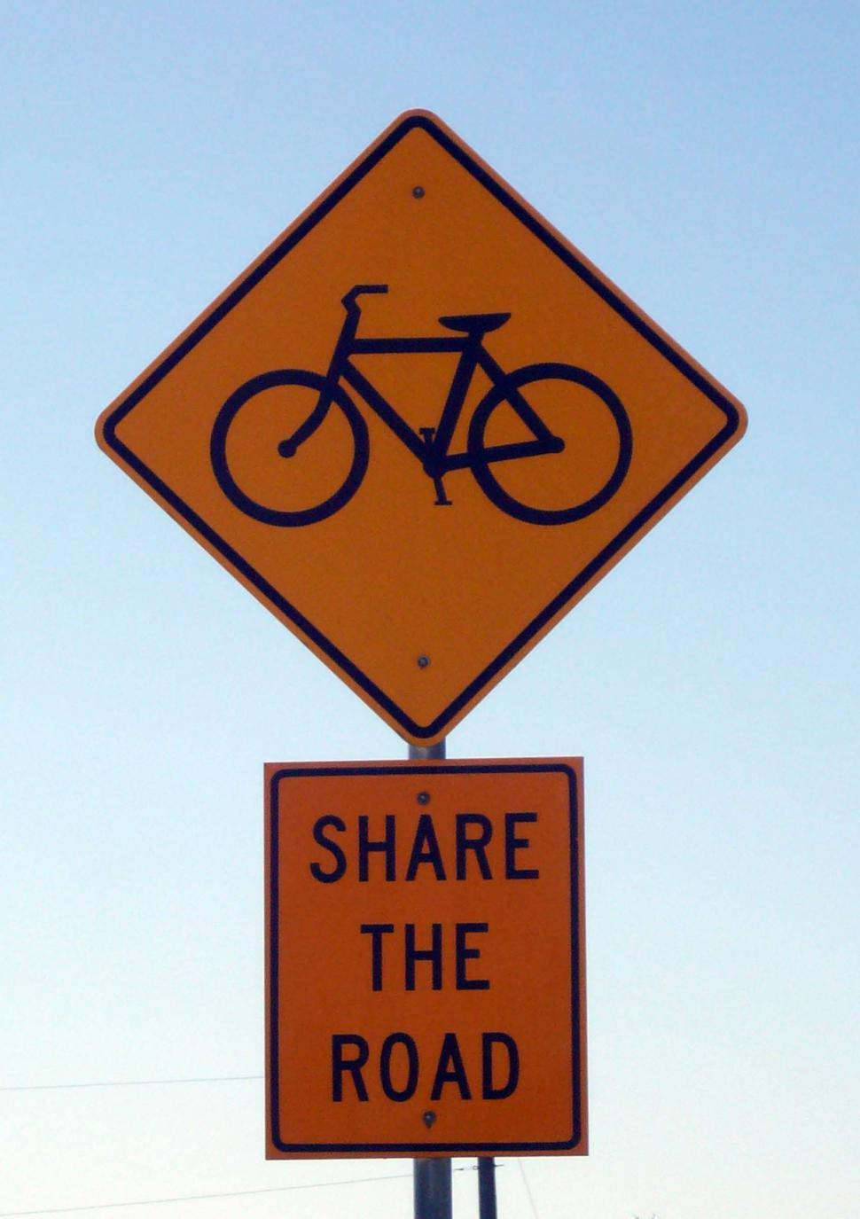 Download Free Stock HD Photo of Share The Road Sign Online