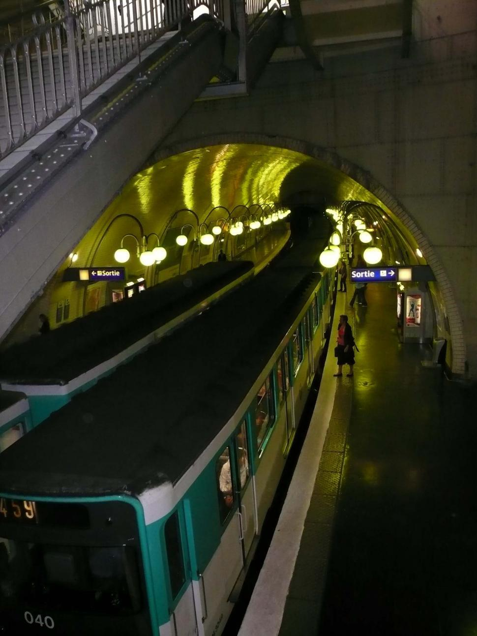 Download Free Stock HD Photo of Paris Subway Online