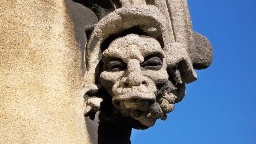 Download Free Stock Photo of Gargoyle Face