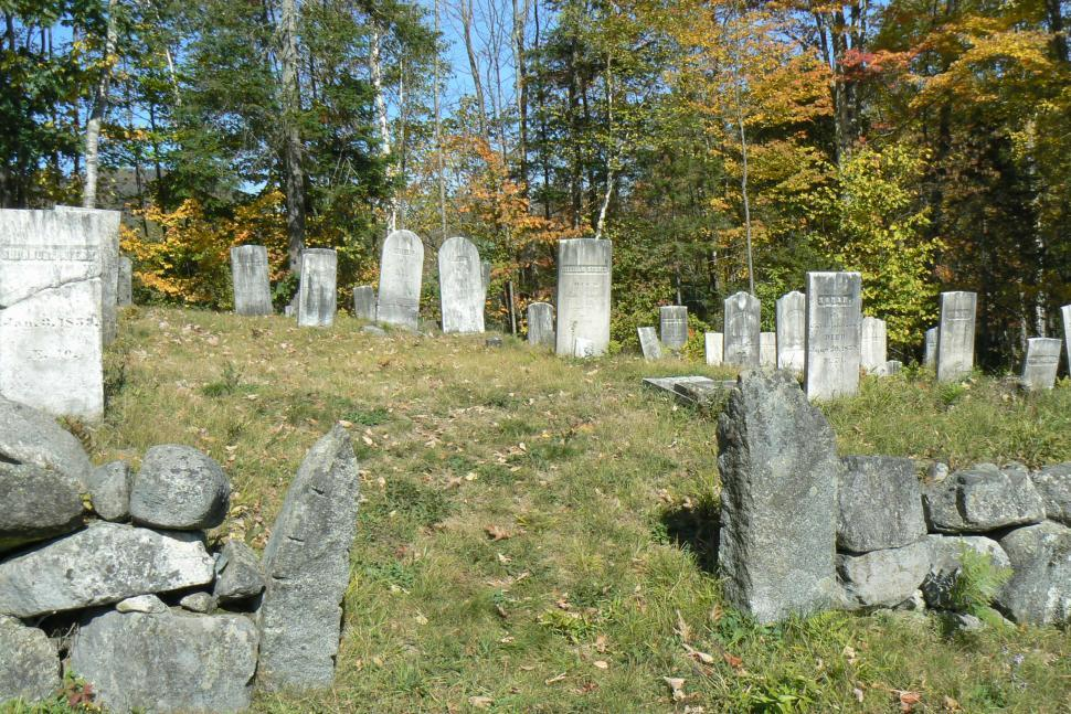 Download Free Stock HD Photo of Cemetery in Fall Online