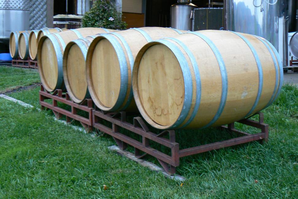 Download Free Stock Photo of Wine Barrels