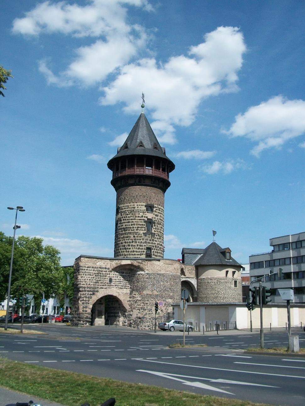 Download Free Stock HD Photo of Old Roman Gate in Cologne, Germany Online