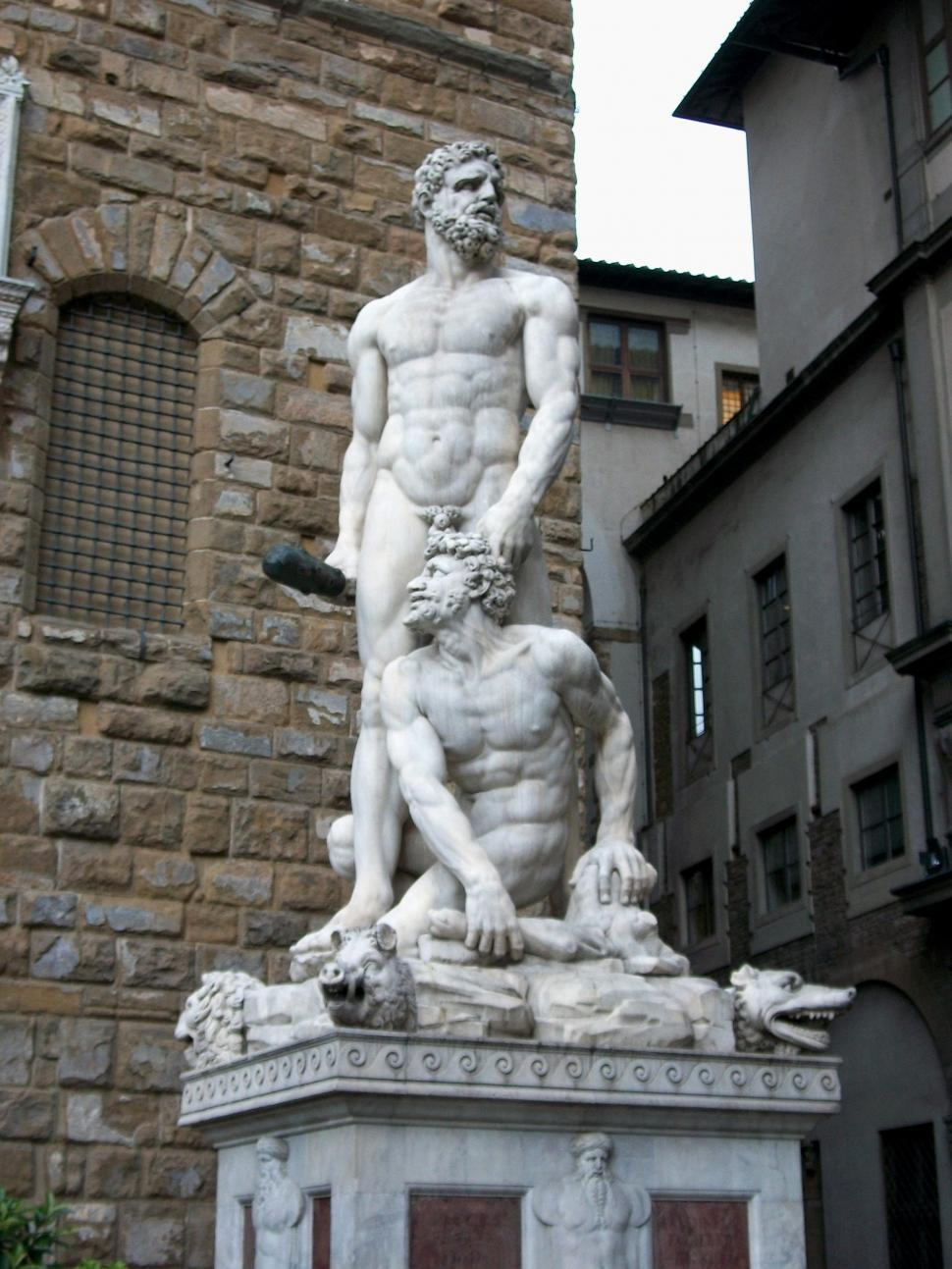Download Free Stock HD Photo of Statue in Florence, Italy Online