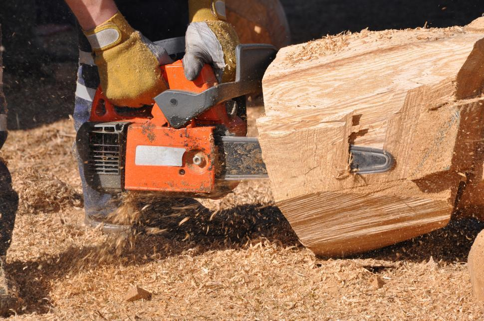 Download Free Stock Photo of Chainsaw