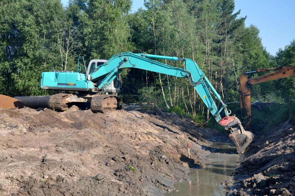 Download Free Stock HD Photo of Excavators Online