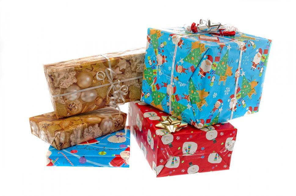 Download Free Stock Photo of Christmas Presents