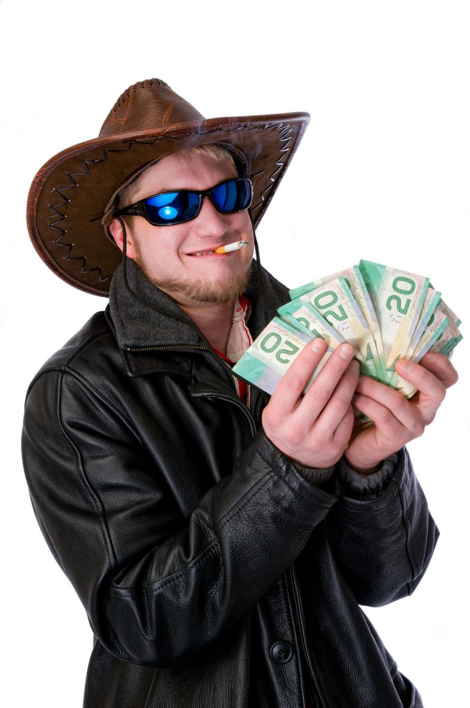 Download Free Stock Photo of Cowboy Success