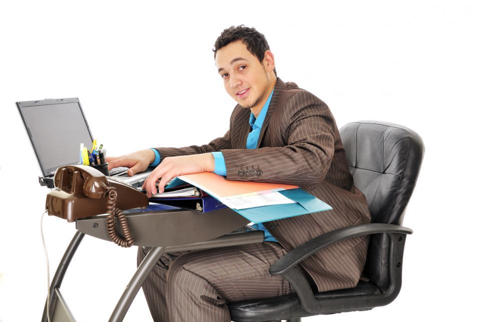 Download Free Stock Photo of Corporate employee