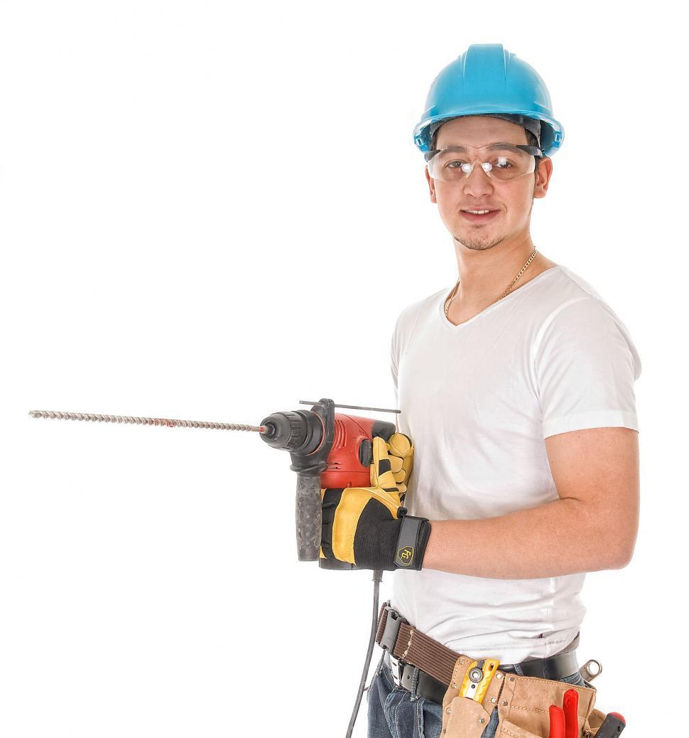 Download Free Stock HD Photo of Construction Worker Online
