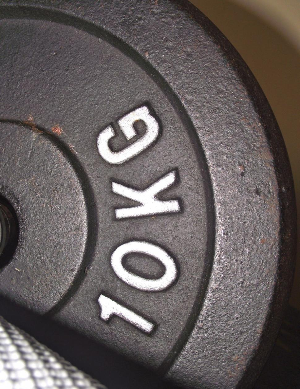 Download Free Stock Photo of 10kg Weight