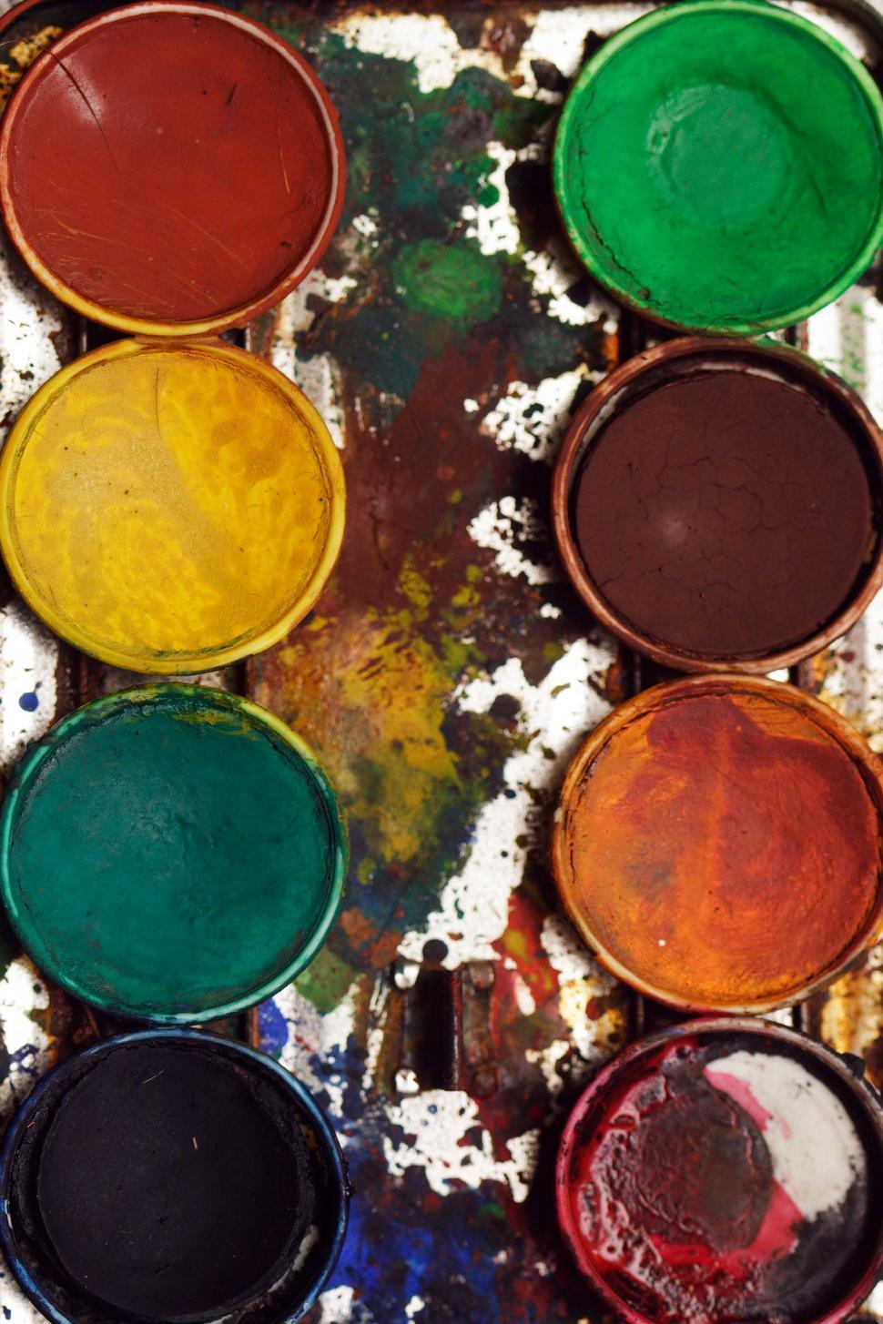 Download Free Stock HD Photo of Watercolor paints Online
